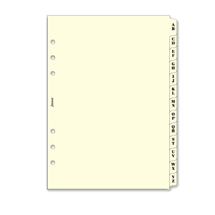 Filofax A5 – A-Z Index