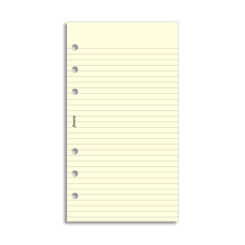 Filofax Personal – Cotton Cream Ruled Notepaper