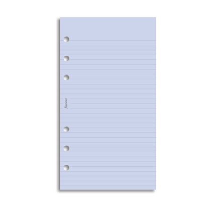 Filofax Personal – Lavender Ruled Notepaper