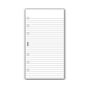 Filofax Personal – White Ruled Notepaper Value Pack