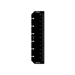 Filofax Pocket – Black Ruler Page Marker