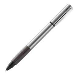 Lamy Accent Aluminium Grey Wood Rollerball pen