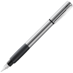 Lamy Accent Palladium Black Grip Fountain Pen