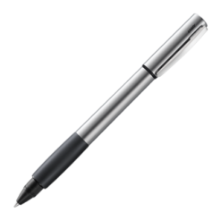 Lamy Accent Palladium Black Grip Rollerball Pen