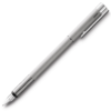 Lamy Logo Brushed Steel Fountain Pen