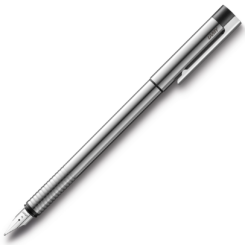 Lamy Logo Stainless Steel Fountain Pen