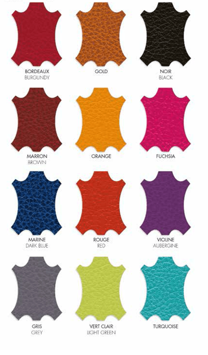 Laurige Colour Chart