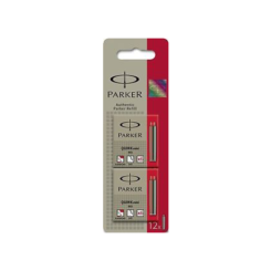 Parker Quink Mini Ink Cartridges X12