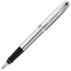 Parker Sonnet Stainless Steel Rollerball with Chrome Trim