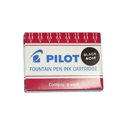 Pilot Capless Fountain Pen Ink Cartridges
