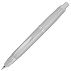 Pilot Capless Silver Fountain Pen