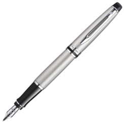 Waterman Expert Stainless Steel Chrome Trim Fountain Pen