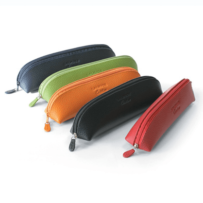 Laurige Leather Pencil Case