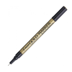 Pilot Super Color Gold and Silver Paint Marker