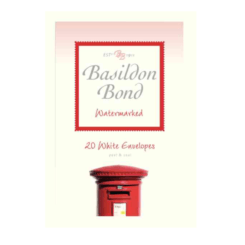 Basildon Bond Medium 20 White Envelopes