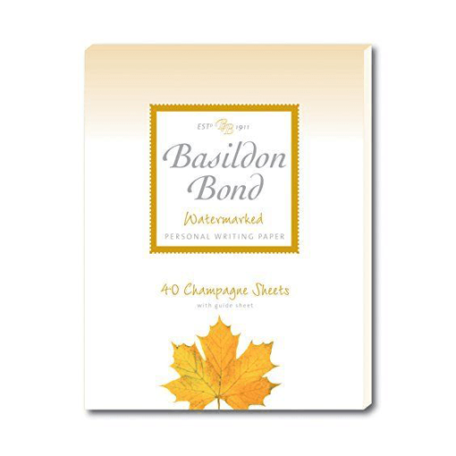 Basildon Bond Medium Champagne Writing Pad 40 Sheets
