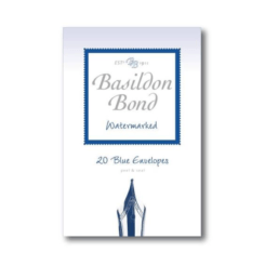 Basildon Bond Small 20 Blue Envelopes