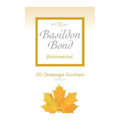 Basildon Bond Small 20 Champagne Envelopes