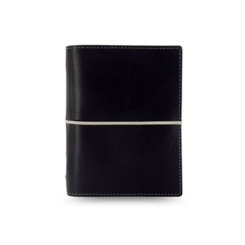 Filofax Domino Black Pocket Organiser