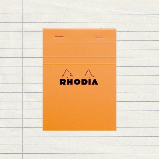 Rhodia Head-Stapled Notepad No.13 A6 (105 x 148) - Lined