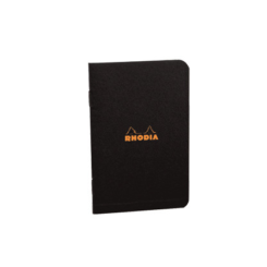 Rhodia Classic Stapled Notebook 75 X 120