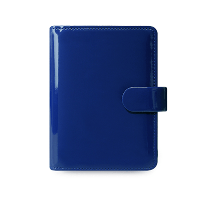 Filofax Patent Imperial Blue Pocket Organiser