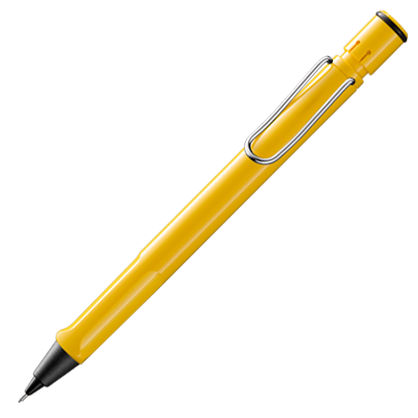 Lamy Safari 0.7mm Yellow Mechanical Pencil
