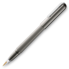 Lamy Imporium Titanium Platinum Matt Fountain Pen