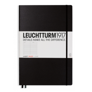 Leuchtturm A4 Notebook Master Classic Lined Hardcover