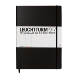 Leuchtturm A4 Notebook Master Plain Hardcover