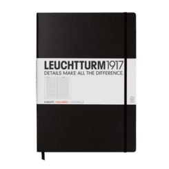 Leuchtturm A4 Notebook Master Squared Hardcover