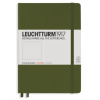 Leuchtturm A5 Notebook Medium Dotted Hardcover