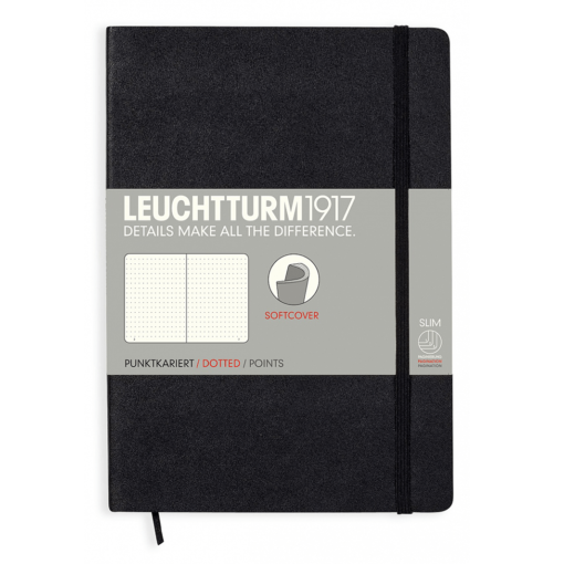 Leuchtturm A5 Notebook Medium Dotted Softcover