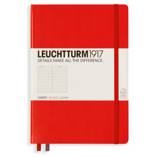 Leuchtturm A5 Notebook Medium Lined Hardcover