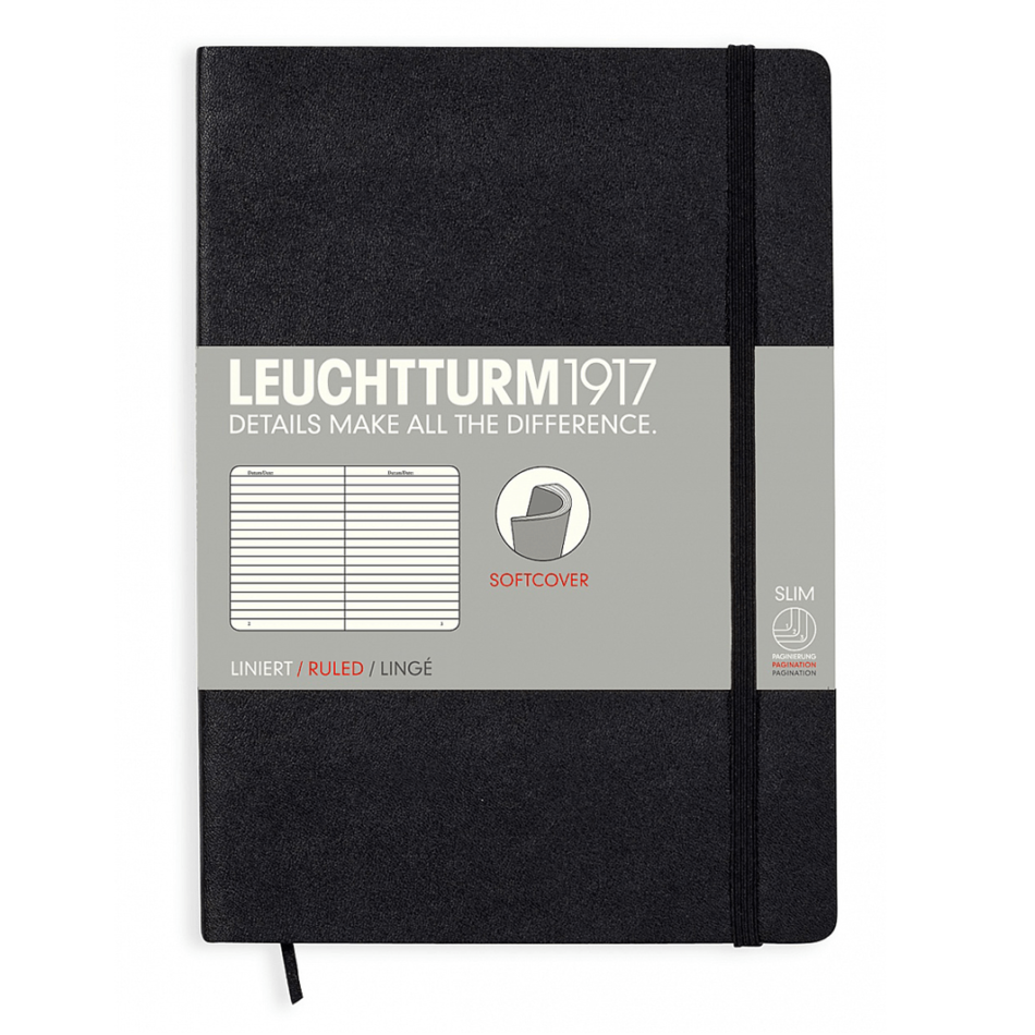 Leuchtturm A5 Notebook Medium Lined Softcover