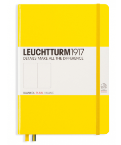 Leuchtturm A5 Notebook Medium Plain Hardcover
