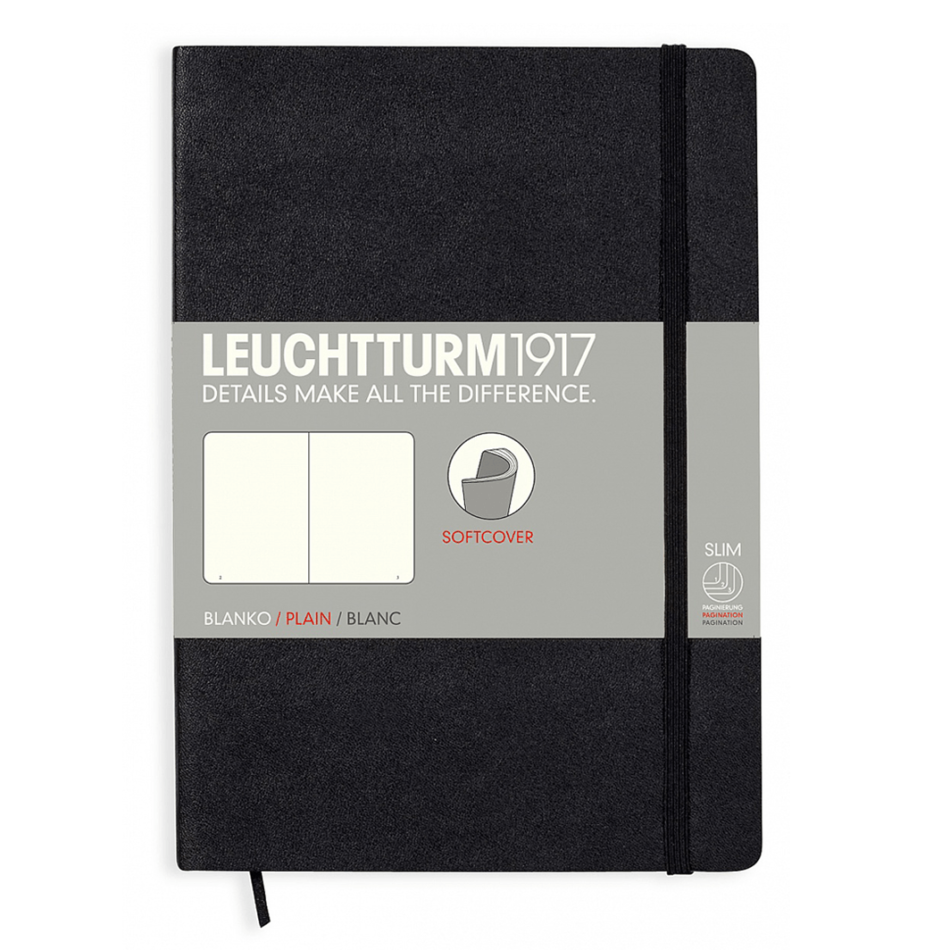 Leuchtturm A5 Notebook Medium Plain Softcover