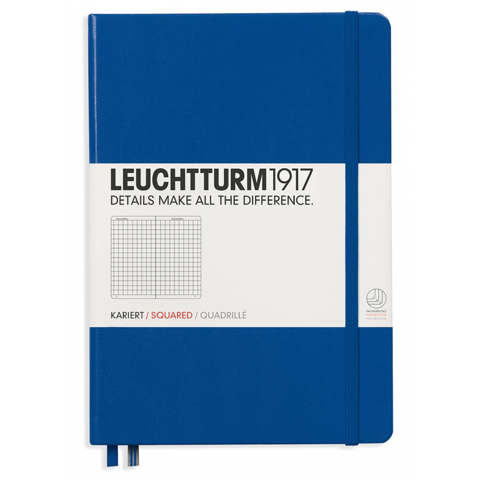Leuchtturm A5 Notebook Medium Squared Hardcover