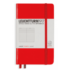 Leuchtturm A6 Notebook Pocket Lined Hardcover