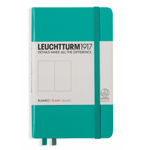 Leuchtturm A6 Notebook Pocket Plain Hardcover