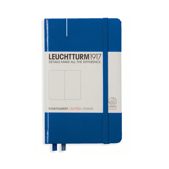 Leuchtturm A6 Royal Blue Notebook Pocket Dotted Hardcover