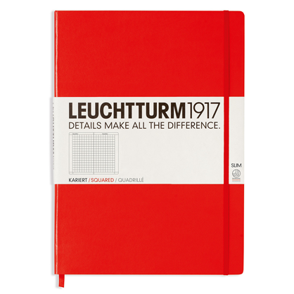 Leuchtturm Notebook Master Slim Squared Hardcover