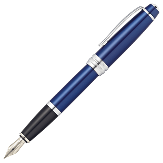 cross-bailey-blue-lacquer-fountain-pen-medium-nib