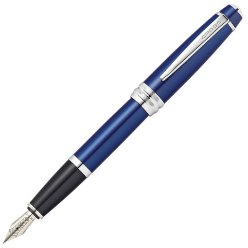 Cross Bailey Blue Lacquer Fountain Pen