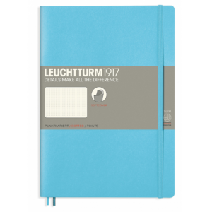 Leuchtturm B5 Ice Blue Notebook Dotted Softcover