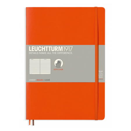 Leuchtturm B5 Notebook Ruled Softcover