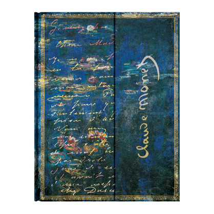 Monet (Water Lilies), Letter to Morisot Ultra Lined Paperblanks Journal