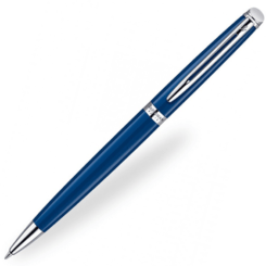 waterman-hemisphere-blue-chrome-trim-ballpoint-pen