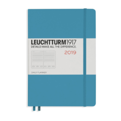 Leuchtturm A5 Daily Planner Hardcover – 2019