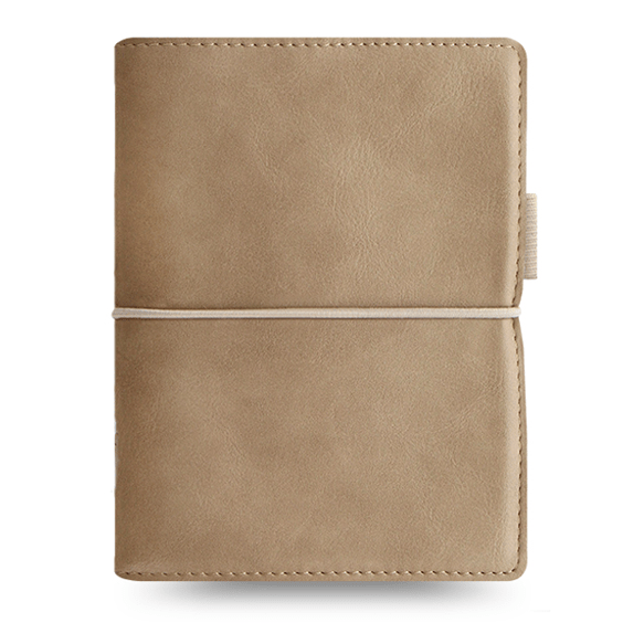Filofax Domino Soft Pocket Fawn Organiser
